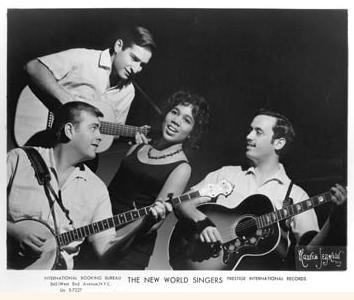 Gil Turner, Happy Traum, Delores Dixon, Bob Cohen