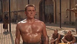 Kirk Douglas playing Spartacus, 1960